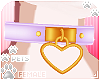 [Pets]HeartCollar|lilac