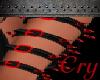 L Bloody Spike Armband