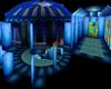 Blue-White Wedding Room