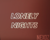 ` LONELY  NEON `