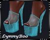 *Nessa Blue Heels