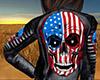 Patriotic Skull Jacket F