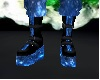 Blue space boots