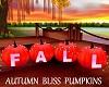 Autumn Bliss Pumpkins