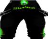 Green Skull Pants -F