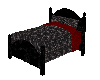 Black n Red Bed w/ poses