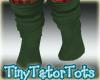 Slouch Socks Green