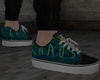 Green Chaos  shoes