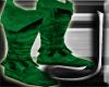 (J) Green Hood Boots