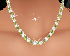 Green Gold Necklaces