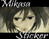Mikasa Sticker Gif