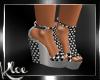 Checkered High Sandles