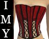 |Imy| Red Corset