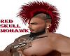RED SKULL MOHAWK