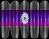 GG: Purple Flower Nails