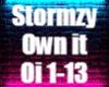 Stormzy own it