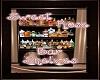 Sweet Rose Bar Shelves