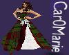 CM! Green tartan dress