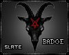 'S Baphomet Badge