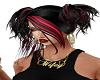 QS:  Clodia   Blk/red