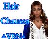 Hair chaussa Brown cream