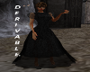 black lace goth dress,