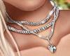 NK Sexy Necklace Silver