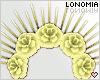 Yellow Rose Crown
