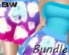 Spring Neon Blue Bundle