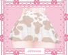 Brown Moo Skirt ღ