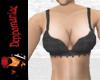 Cordette Bikini Top BLK