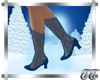 Noelle Boots in Cerulean