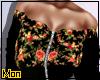 🌺 Black floral Bomber