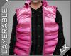 ~AK~ Ski Vest: Pink
