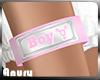 Feminine Boy Armband