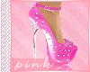 PINK- PINK SPIKES-HEELS