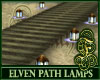 Elven Path with Lamps
