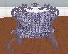 LL-Lavender floral chair