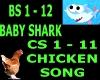 Baby Shark  Chicken Song
