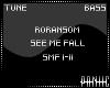 ✘ SEE ME FALL