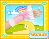 KID PINK GLOVES LACE