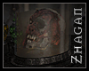 [Z] TAL Skull in Jar ani