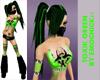 Toxik Hair - Green
