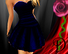 [D] Blue Classy Dress