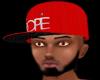 DOPE red&white cap
