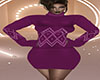 Purple TN Sweater Dress
