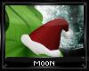Grinchy Santa hat