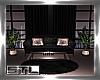 Blush Sofa and Table Set