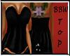 BBW Black Winter Top