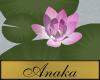 AT- Waterlilies Purple